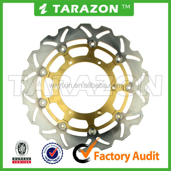 TARAZON brand high quality motorcycle brake disc for CBR 650