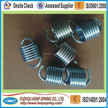 OEM stainless steel tension spring with double hook