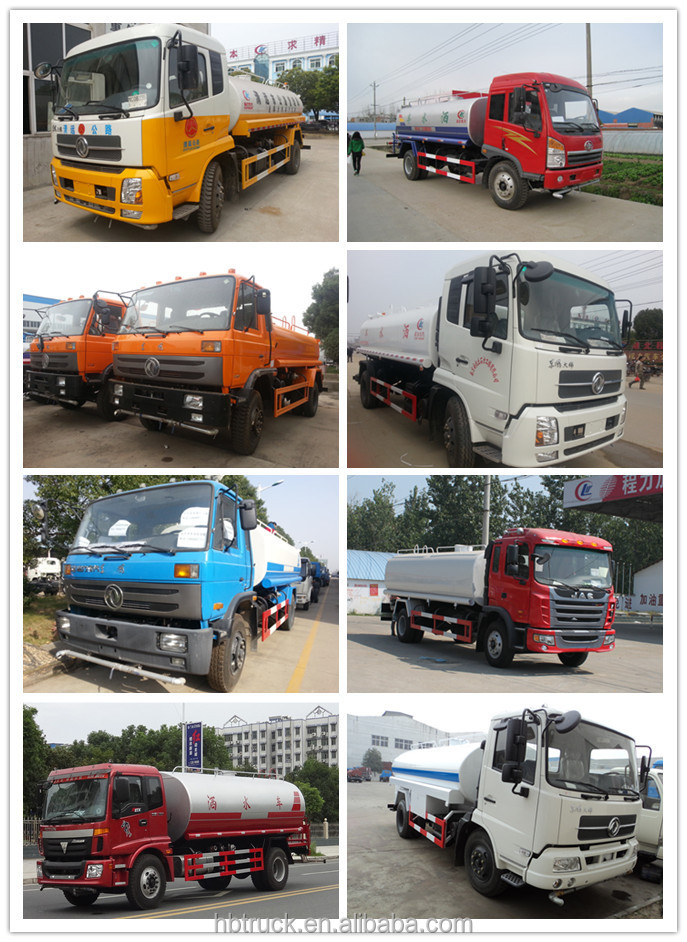 factory sale new 20000L 6*4 JAC Water truck