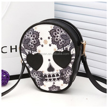 Fashion Skull head Designer New Cheap Leather Lady Girls Women Shoulder Bags