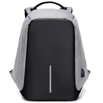 2018 School 15.6 Inch Laptop bag for Men Women USB port Water Resistant Business anti-theft bag backpack for Computer Notebook