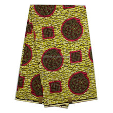 Printed in Holland 6 yrads African Print fabric Wholesale hollandis dutch wax 100% Cotton H696