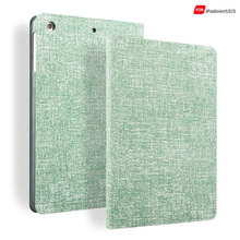 Genuine Real 100% Leather Flip bracket Jeans Texture case for ipad mini 123 case for ipad mini 2