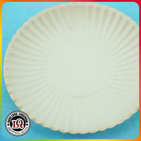 "Hangzhou Partyware Wholesale 9"" White Paper Plates"