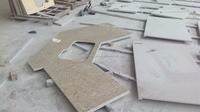 wholesale yellow granite counter top for kitchen