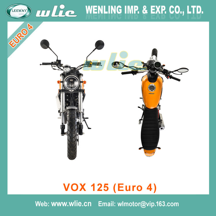 Quality eec scooter epa dot classic emark 125cc gas motorcycle approved engine larger power VOX (Euro 4)