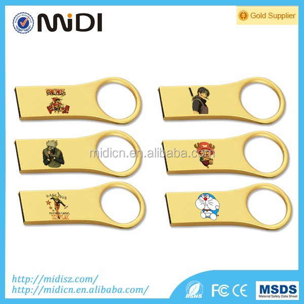 OEM Logo Key USB Flash Drive 2GB 4GB 6GB 16GB Waterproof Flash Disk