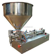 stainless steel semi-automatical manual honey packing machine