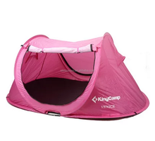 foldable pink king camp camping tent