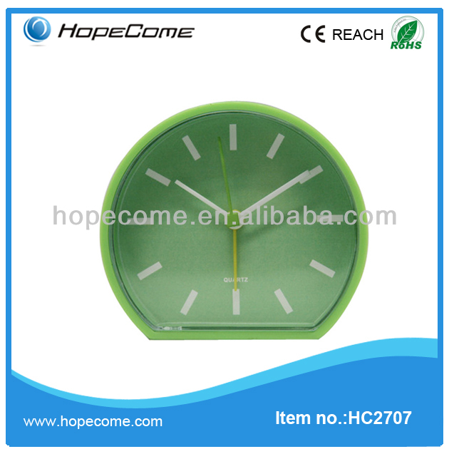 (HC2707) new plastic alarm clock table clock with good quality desk flip clock