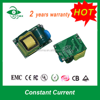 CE approved 5w constant current led bulb driver for led bulb light
