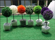 Yiwu factory direct high simulation flower artificial flower decoration simulation bonsai plants / artificial potted tree