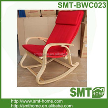 popular modern leisure red bentwood chair