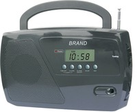 AM FM Portable Radio with digital read out