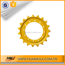 2017 hot sale excavator parts pc100-5 sprocket With Professional Technical Support