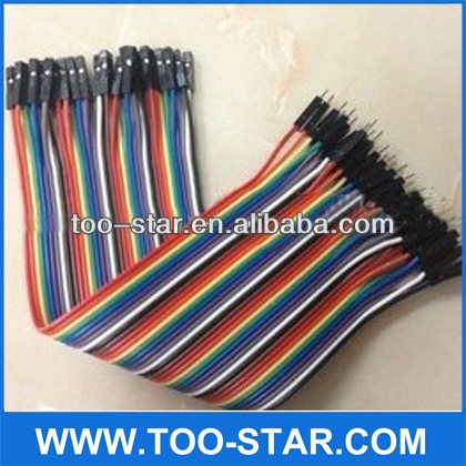 Universal board cable 40P male end of the DuPont line rehearsal DuPont line bread board breadboard cable line
