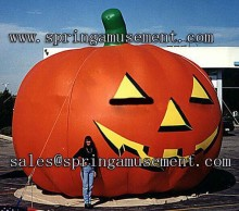 popular outdoor and cheap price Inflatable Halloween pumpkin model decoration product sp-hb019