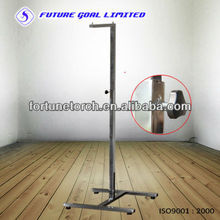 Metal Promotional Items Clothes Display Stands For Supermarket