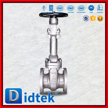 Didtek Fast Delivery Cryogenic Long Neck Stainless Steel Flanged Gate Valve