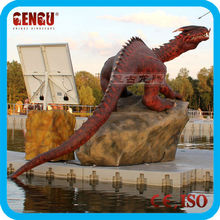 Outdoor playground decor dragon animatronic
