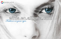 GEO GEOLICA CELINE cosmetic color contact lenses US FDA approved high quality luxury contacts