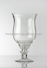 Clear Glass Hurricane Vase For Home Decorative,decorative glass flower vase, glass vase
