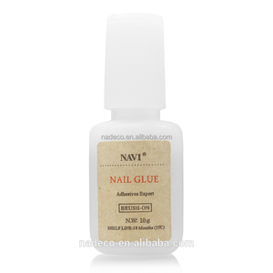 7ml nail glue.clear nail glue,artificial nail glue, liquid nail glue with nail bruch for nail tips