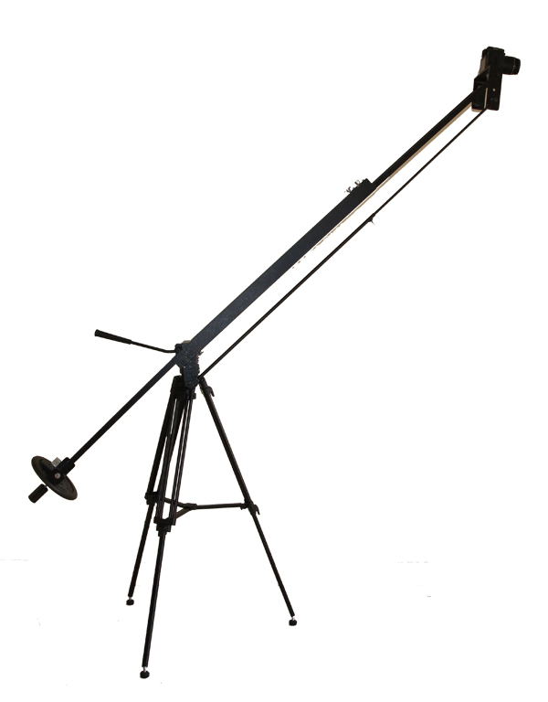 8 Foot dual Arm camera jib Crane with Carry Backpack Bag