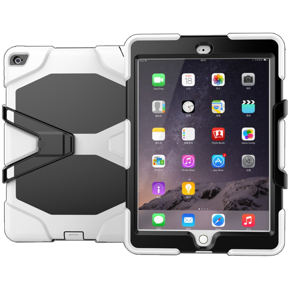 Wholesale 3 in 1 Detachable case for ipad air2 stand