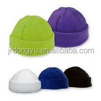 promotion plain polar fleece skull hat
