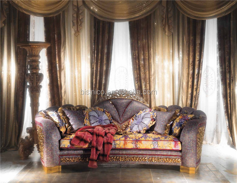 Great Room Indoor Garden Designed Luxury Sofa and Decoration Item Set