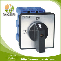 20A 3-POLE 2POS DIN Rail Main Rotary Switch (OFF-ON Switch)