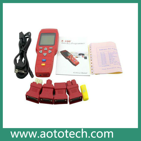 2012 newest X-100+ X100 Plus Auto Key Programmer free shipping by DHL