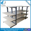 Advanced supermarket wooden shelves retail shelving system