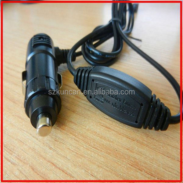 Portable 5v 3.1A 2A 1.5A 12v cell phone micro usb car charger with cable