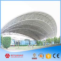 ADTO Group The Long-span Steel Arch Structure Work Light Welded Metal Steel Dome Building Construction with Drawing