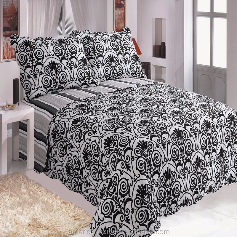 High quality Disperse printing stock microfiber quilt