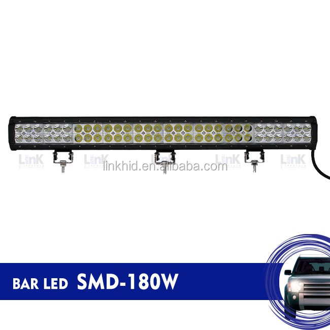 Link LED Bar light for jeep, truck, ATV combo spot flood led bar lamp 180W