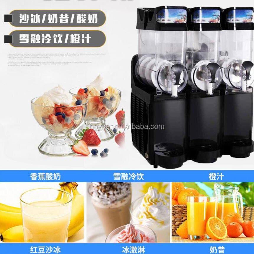 New Design Instant 15L*2 Small Size High Quality Slurpee Machines For Sale