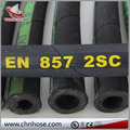 Two layer wire braid cloth surface EN857 2SC hydraulic hose