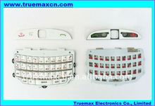 For Blackberry 9800 White Russian keypad
