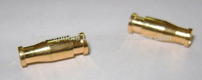 12 mm Tube Fly Bottle Tubes GOLD India Fly tying Materials