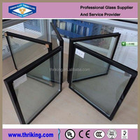 Thriking glass 6.38mm hollow glass
