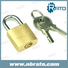 Master Key Brass Tri Circle Padlock