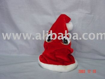 Dancing Christmas Hat Christmas Decoration Battery Operated Moving Hat