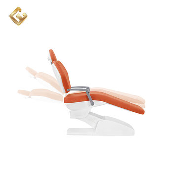 New design easy to clean dental chair comfortable interlock system chair memory position dental chair