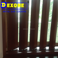Aluminum vertical awning louver and jalousie as window and shutter door