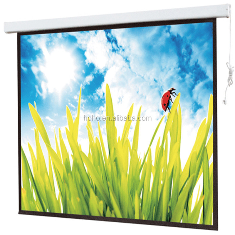 Electric Screen/electric projection screen/extra Large Electric Projection Screen