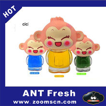 ANT Fresh Hip Hop Monkey Car Vent Clips Air Freshener and Odor Eliminator There are six kinds of flavor