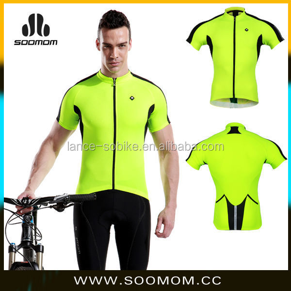 2015 yellow hot design your own tights cycling apparel, clothing